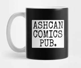 Picture Ashcan Comics Pub. (ACP Studios) mug and a link to other cool merchandise.